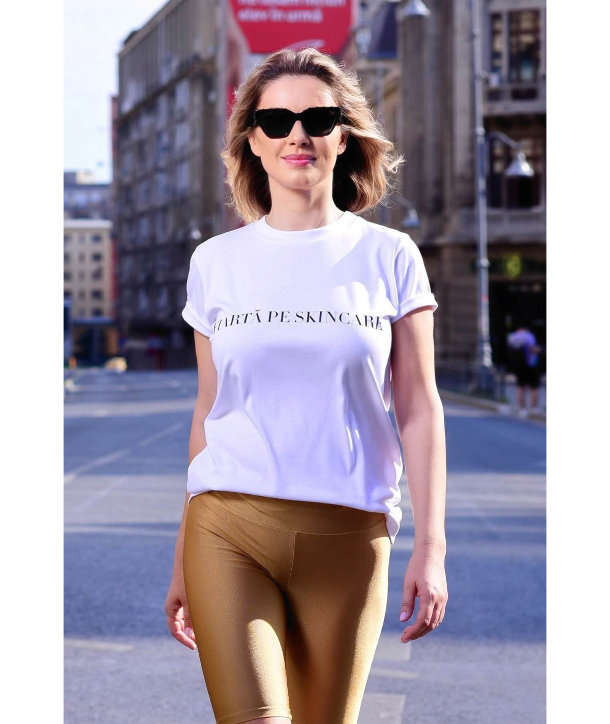 Women Knitted T-shirt with...
